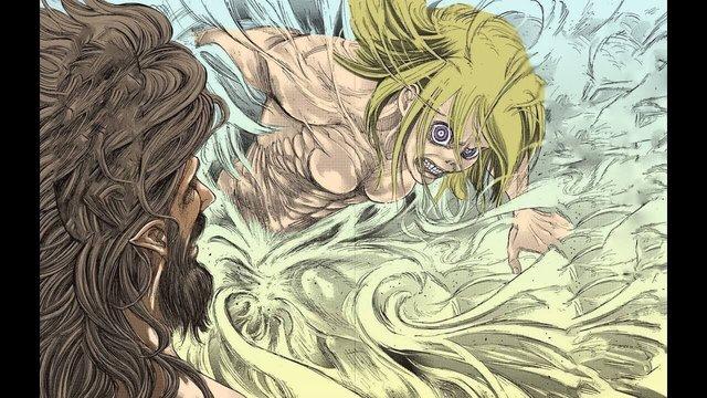 Spoil Attack On Titan season 4 tập 4: Eren chính thức hóa Titan, quyết chiến Titan Búa Chiến - Ảnh 2.