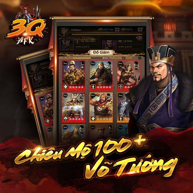 Xuất hiện game mobile màn hình dọc độc nhất Việt Nam - Tam Quốc AFK - Ảnh 2.