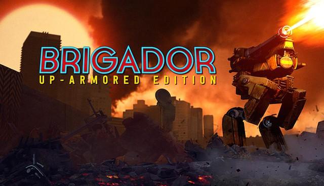 Chỉ một click, nhận miễn phí tựa game bắn súng chiến thuật không gian Brigador - Ảnh 1.