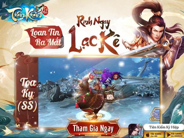 Tiên Kiếm Kỳ Hiệp - Game nhập vai Tu Tiên Độ Kiếp chính thức ra mắt, tặng Giftcode - Ảnh 1.