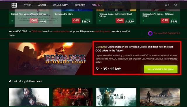 Chỉ một click, nhận miễn phí tựa game bắn súng chiến thuật không gian Brigador - Ảnh 3.