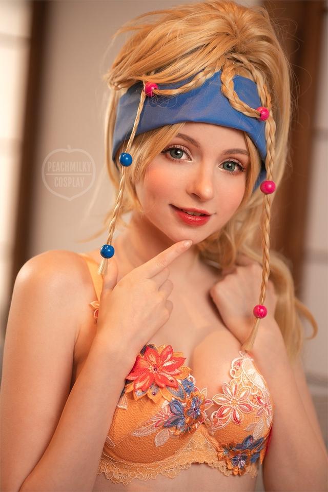 Mỹ nhân Final Fantasy X khiến anh em game thủ giật mình khi diện bikini khoe thân hình hoàn hảo - Ảnh 3.
