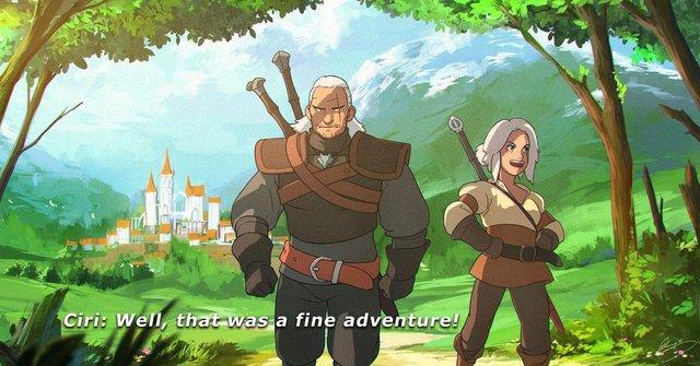 Bộ phim Anime chuyển thể từ dòng game The Witcher chuẩn bị ra mắt cộng đồng game thủ - Ảnh 1.