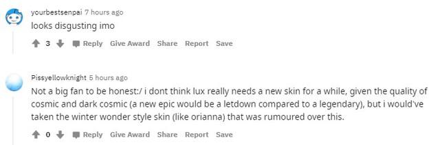 LMHT: Hàng loạt skin mới bị lộ nhưng game thủ chẳng vui chút nào vì trang phục của Lux quá xấu - Ảnh 9.