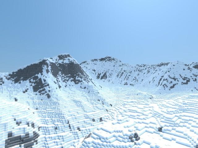 Mất hàng tháng trời, nam streamer mới xây dựng được đỉnh Everest trong Minecraft với tỷ lệ 1:1 - Ảnh 1.