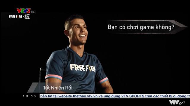 Ronaldo lên hẳn thời sự VTV để nói về Free Fire, đập tan mọi tin đồn chế giễu từ tựa game nào đó - Ảnh 2.