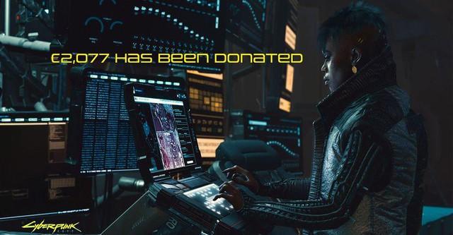 Sử dụng tên nhân vật trong Cyberpunk 2077, game thủ quyên góp từ thiện gần 60 triệu - Ảnh 3.