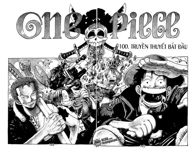 One Piece: Nhìn lại những cột mốc của Luffy tại chapter 100, 200, 300,...1000 để thấy được quá trình trở thành Vua Hải Tặc vĩ đại của Mũ Rơm - Ảnh 1.
