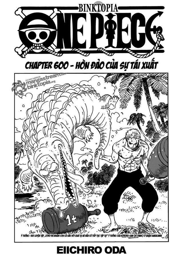One Piece: Nhìn lại những cột mốc của Luffy tại chapter 100, 200, 300,...1000 để thấy được quá trình trở thành Vua Hải Tặc vĩ đại của Mũ Rơm - Ảnh 6.
