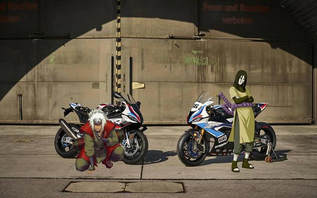 Mãn nhãn trước hình ảnh các nhẫn giả trong Naruto tạo dáng cực ngầu bên siêu xe - Ảnh 9.