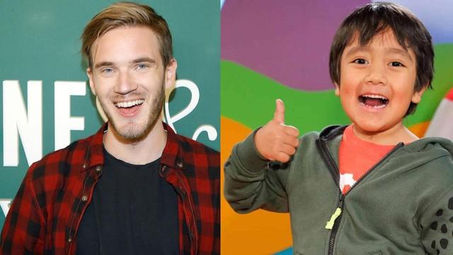 Vượt qua cả ông hoàng PewDiePie, cậu bé 9 tuổi này là Youtuber kiếm được nhiều tiền nhất năm 2020 - Ảnh 1.
