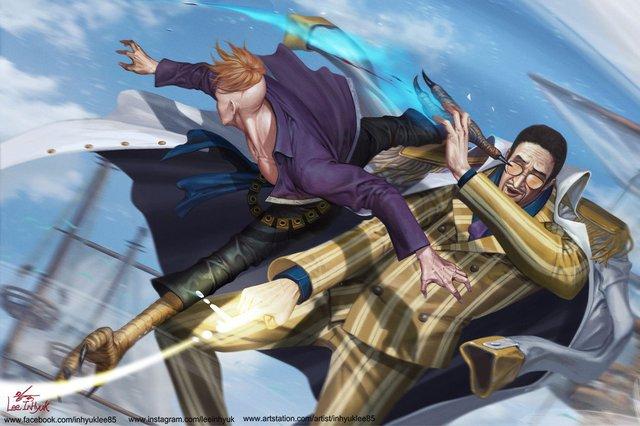 One Piece: Nếu muốn thì Phượng Hoàng Marco đủ sức để trở thành Tứ Hoàng trong 2 năm timeskip - Ảnh 2.