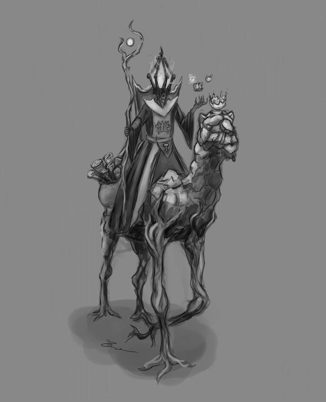 Nguồn gốc thực sự của Paimon trong Genshin Impact: Vua quỷ đáng sợ nhất trong thế giới ngầm - Ảnh 5.