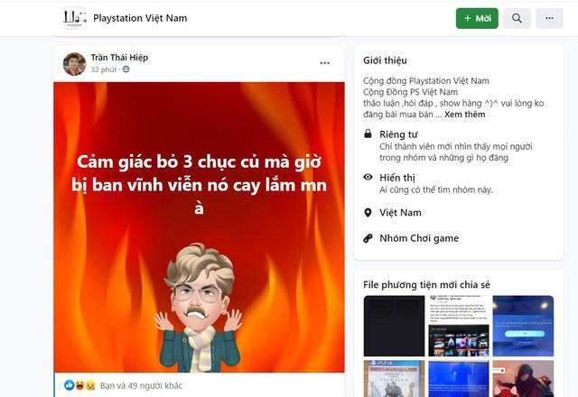 Game thủ Việt kêu trời vì bị khóa tài khoản PS5, PS4 - Ảnh 5.