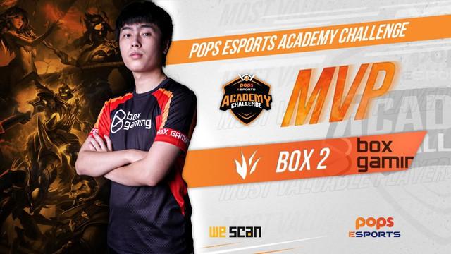 BOX Gaming tân vương của POPS ESPORTS ACADEMY CHALLENGE - Ảnh 2.