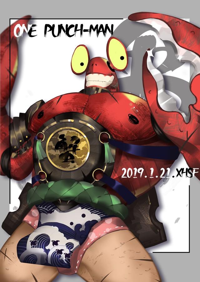 Giật mình khi thấy các quái vật trong One Punch Man diện đồ cổ trang trông càng thêm ngầu - Ảnh 4.