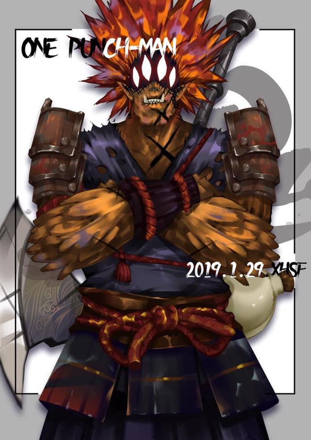 Giật mình khi thấy các quái vật trong One Punch Man diện đồ cổ trang trông càng thêm ngầu - Ảnh 5.