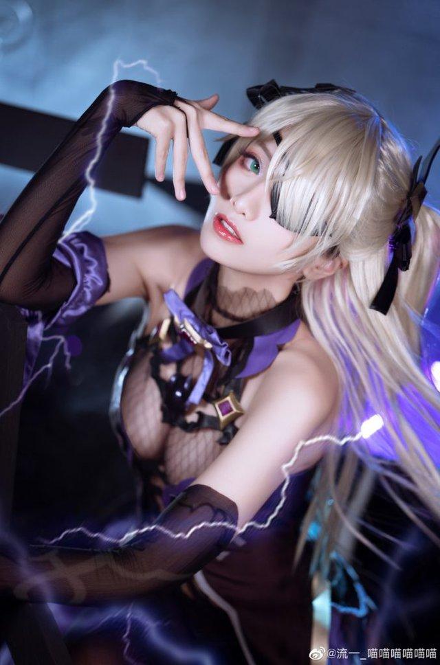 """nữ coser biến """"công chúa định tội"""" trong Genshin Impact dậy thì thành công Photo-1-1609386528056819398264"""
