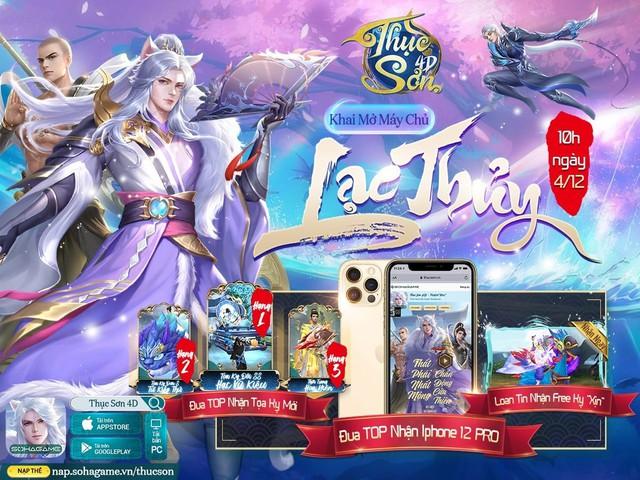 Pha lột xác đột phá nhất làng game - bom tấn Thục Sơn 4D chính thức ra mắt, đua TOP nhận iPhone 12 Pro kèm hàng ngàn Giftcode - Ảnh 4.