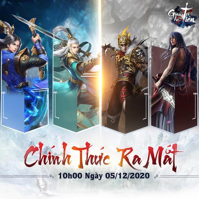 Game nhập vai Giang Hồ Tu Tiên ấn định ngày ra mắt chính thức - Ảnh 1.