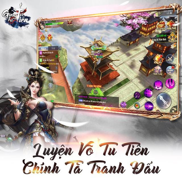 Game nhập vai Giang Hồ Tu Tiên ấn định ngày ra mắt chính thức - Ảnh 2.