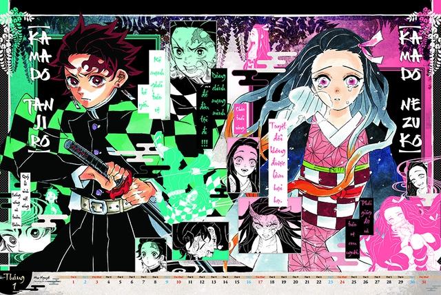 Rục rịch chào năm 2021, Kim Đồng phát hành bộ lịch siêu hot chiều lòng fan cứng manga - Ảnh 6.