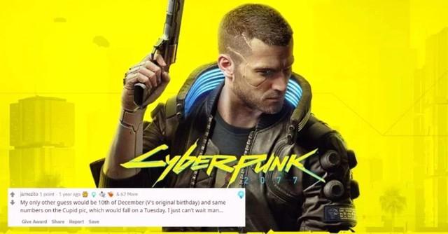 Khó tin! Có game thủ đã tiên tri được ngày phát hành Cyberpunk 2077 từ 2 năm trước - Ảnh 1.
