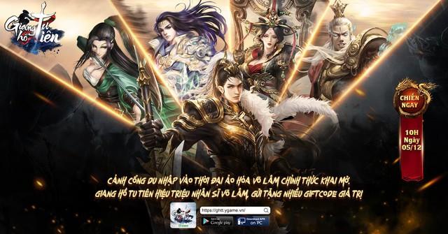 Giang Hồ Tu Tiên YGame gửi tặng bạn đọc nhiều giftcode giá trị - Ảnh 1.