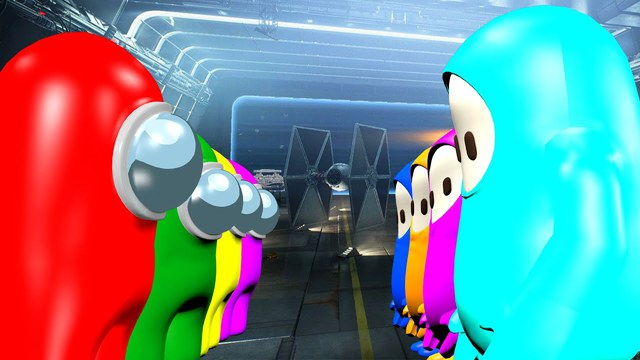 Xuất hiện bản mod siêu hài hước, kết hợp giữa Among Us và một tựa game cũng nổi tiếng không kém - Ảnh 1.