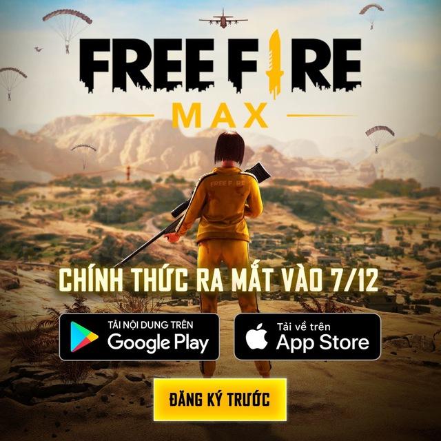 """Nóng! Free Fire MAX chính thức ra mắt vào ngày 7/12, tặng quà miễn phí """"siêu to khổng lồ"""" toàn server - Ảnh 1."""