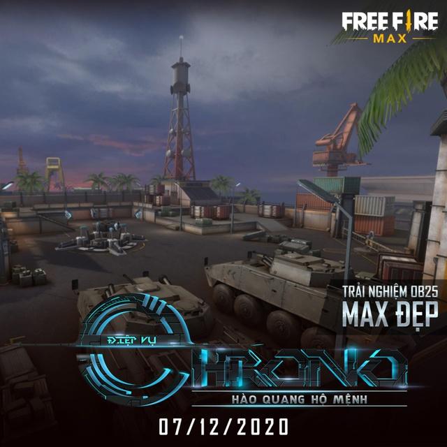 """Nóng! Free Fire MAX chính thức ra mắt vào ngày 7/12, tặng quà miễn phí """"siêu to khổng lồ"""" toàn server - Ảnh 5."""