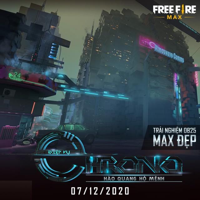 """Nóng! Free Fire MAX chính thức ra mắt vào ngày 7/12, tặng quà miễn phí """"siêu to khổng lồ"""" toàn server - Ảnh 6."""