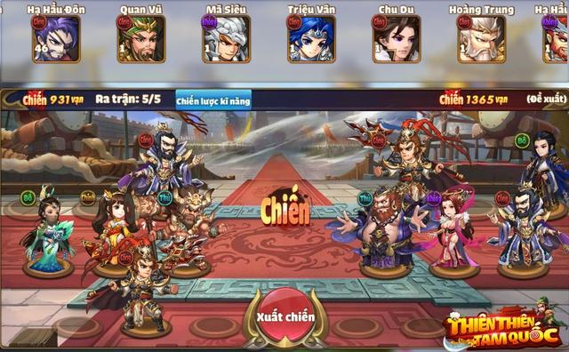 Thiên Thiên Tam Quốc xây dựng đội hình có bối cảnh thời kì Tam Quốc Photo-1-1607331314566254921700
