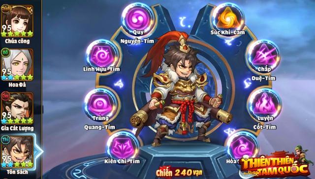 Thiên Thiên Tam Quốc xây dựng đội hình có bối cảnh thời kì Tam Quốc Photo-1-160733164500020927500