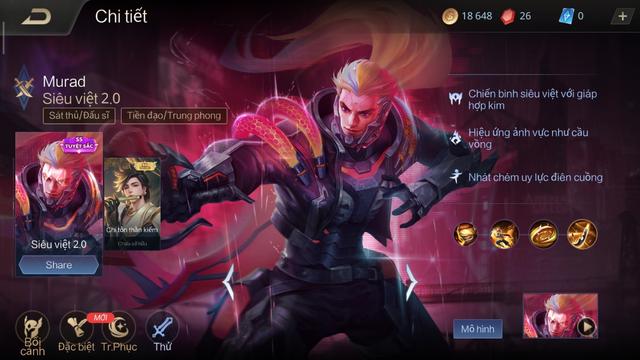 Các skin SS có giá trị rất cao và chi phí game thủ phải bỏ ra cho từng item lẻ cũng không hề rẻ chút nào.