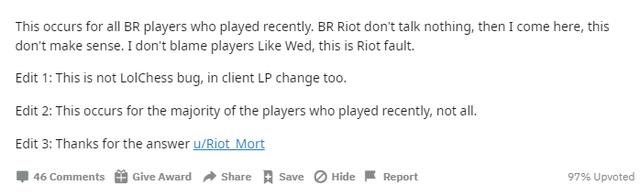 Ma thuật của Riot - Game thủ nhận free hàng trăm điểm rank Đấu Trường Chân Lý dù không chơi 1 ván - Ảnh 3.