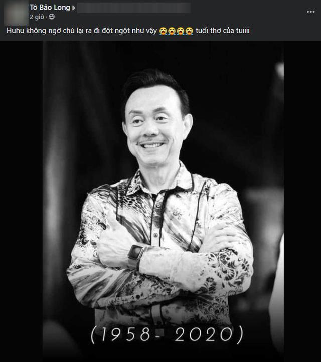 Game thủ Việt lặng người trước sự ra đi của danh hài Chí Tài: Vĩnh biệt chú, một phần tuổi thơ con - Ảnh 2.