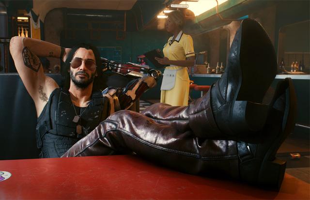 Diễn xuất của Keanu Reeves có phần hơi cứng và có thể xem là điểm trừ của game. Tuy nhiên mối quan hệ giữa Silverhand và V cũng đã khiến cho trò chơi thú vị hơn.
