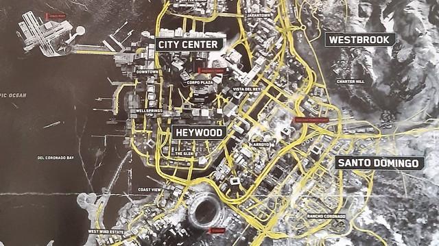 Bản đồ của Night City sẽ rộng gấp đôi Los Santos trong GTA V.