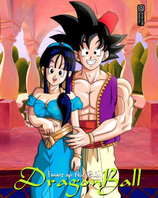 Ngỡ ngàng khi dàn nhân vật Dragon Ball gia nhập thế giới Disney, Vegeta hóa quái thú bên cạnh công chúa Bulma - Ảnh 9.