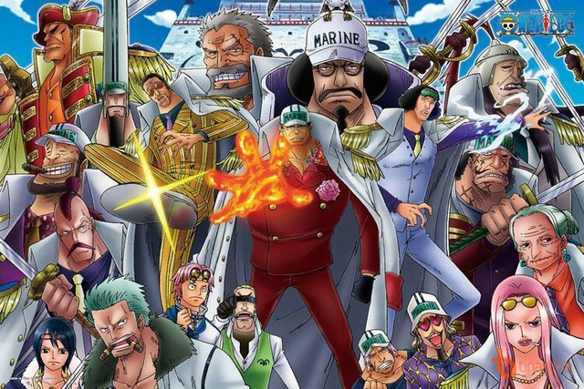 One Piece: 5 lý do chứng minh đô đốc hải quân là địch thủ cực kì nguy hiểm đối với mọi hải tặc - Ảnh 1.