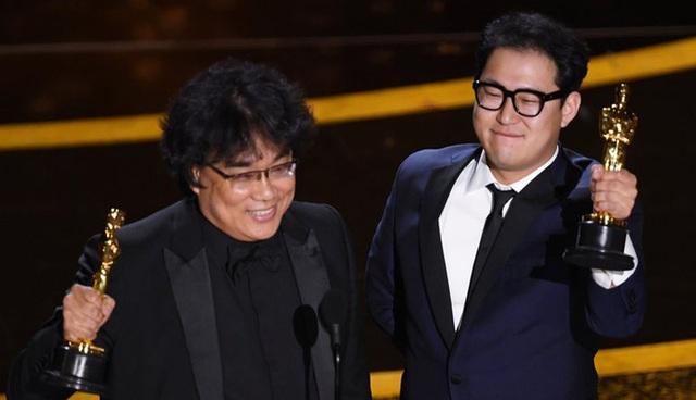 Parasite và cú ăn 3 lịch sử tại Oscar 2020: Giải to giải nhỏ đều ẵm trọn, đến chú Bong Joon Ho còn stress - Ảnh 11.