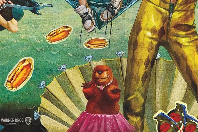 Birds of Prey: Những sự thật mà bạn chưa biết về linh cẩu Bruce và con hải ly nhồi bông của Harley Quinn - Ảnh 6.