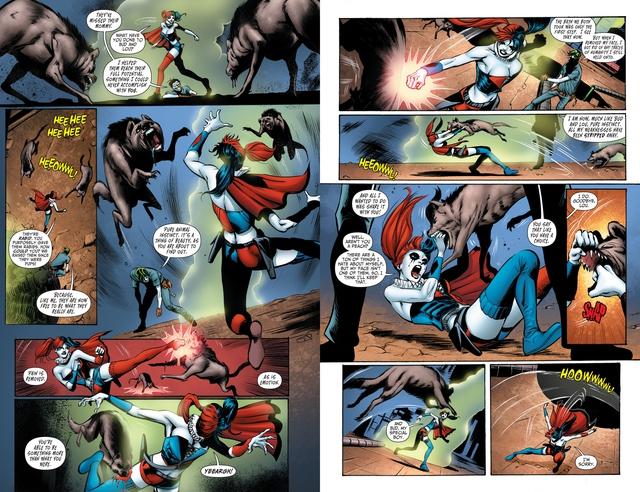 Birds of Prey: Những sự thật mà bạn chưa biết về linh cẩu Bruce và con hải ly nhồi bông của Harley Quinn - Ảnh 4.