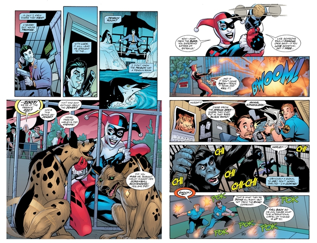 Birds of Prey: Những sự thật mà bạn chưa biết về linh cẩu Bruce và con hải ly nhồi bông của Harley Quinn - Ảnh 2.