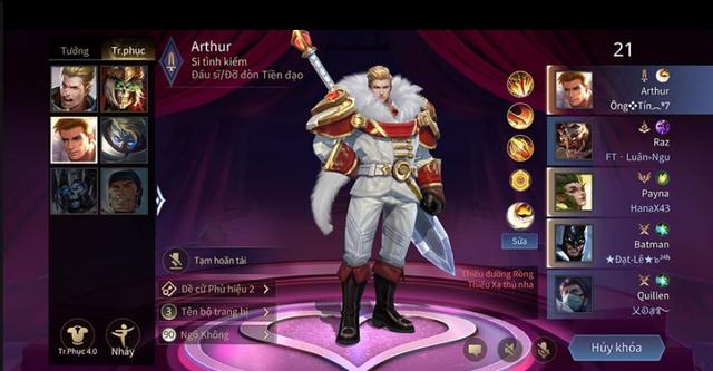Liên Quân Mobile: Cặp đôi Arthur và TelAnnas Valentine được tặng FREE cho game thủ may mắn - Ảnh 5.