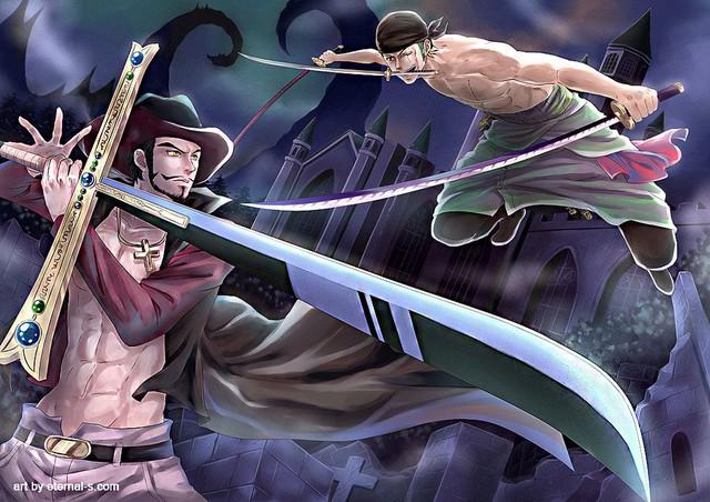 One Piece: Giống như Ace, cái chết của đệ nhất kiếm sĩ Mihawk đã được Oda ngầm báo từ rất lâu - Ảnh 7.