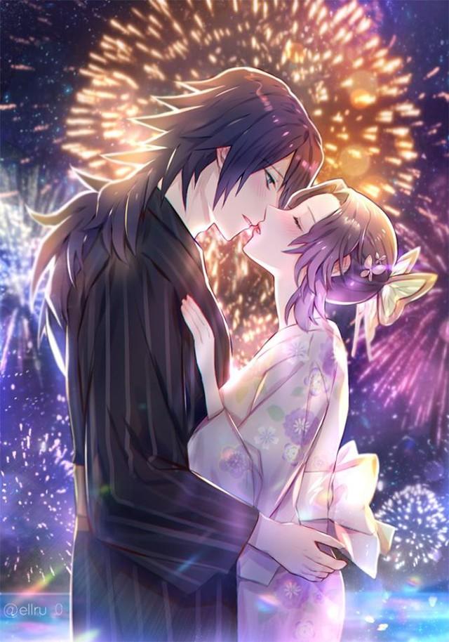 Kimetsu no Yaiba: Ngày lễ Tình yêu, Thủy trụ và Trùng trụ thân mật qua loạt fan art đẹp như mơ - Ảnh 5.