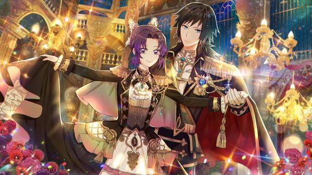Kimetsu no Yaiba: Ngày lễ Tình yêu, Thủy trụ và Trùng trụ thân mật qua loạt fan art đẹp như mơ - Ảnh 6.