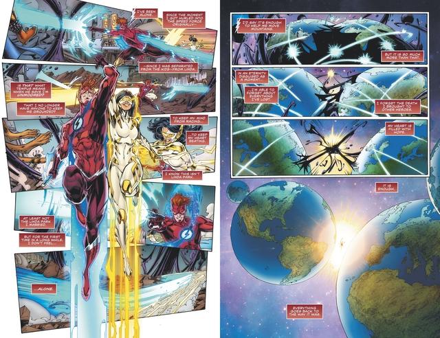 Không chỉ còn là 1 siêu anh hùng, The Flash sẽ trở thành 1 vị thần hùng mạnh - Ảnh 3.